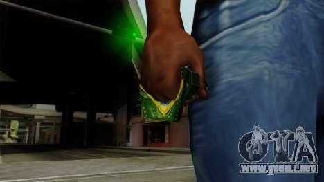 Brasileiro Thermal Goggles v2 para GTA San Andreas tercera pantalla