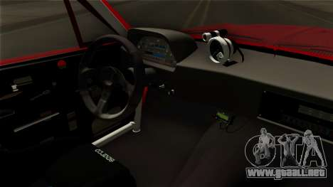 Ford Mustang Fastback para GTA San Andreas vista hacia atrás