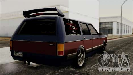 New Regina Extreme para GTA San Andreas left