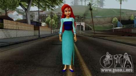 Ariel (Human Version) para GTA San Andreas segunda pantalla