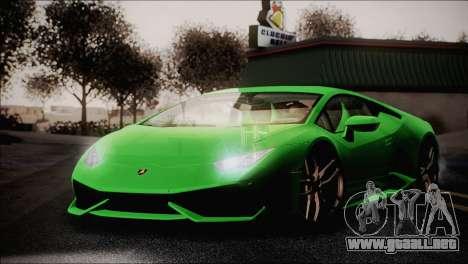 TASTY ENBSeries 0.248 para GTA San Andreas segunda pantalla