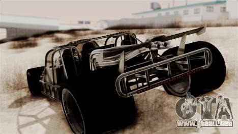 Camo Flip Car para GTA San Andreas left