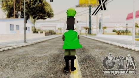 Gumi Love Is War (Vocaloid) para GTA San Andreas tercera pantalla