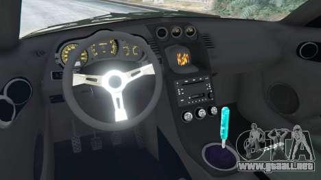 GTA 5 Nissan 350Z vista lateral derecha