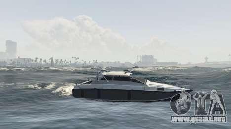 Mejora de la embarcación Suntrap para GTA 5