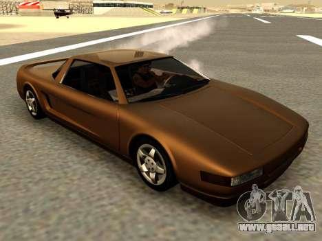 Infernus PFR v1.0 final para GTA San Andreas