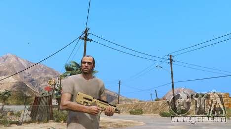 GTA 5 TAR-21 из Battlefield 4 segunda captura de pantalla