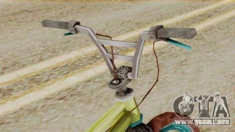 Crap BMX para la visión correcta GTA San Andreas