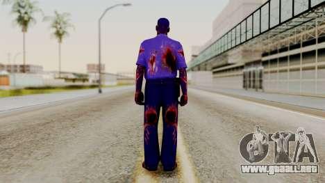 FNAF Purple Guy para GTA San Andreas tercera pantalla