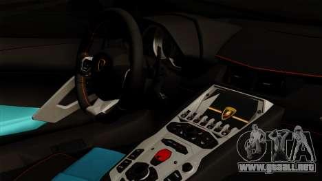 Lamborghini Aventador LB Performance para la visión correcta GTA San Andreas