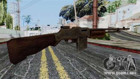 BAR 1918 from Battlefield 1942 para GTA San Andreas segunda pantalla