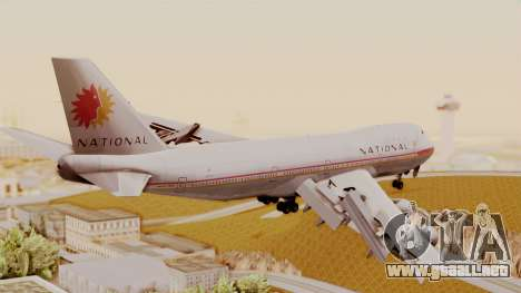 Boeing 747-100 National Airlines para GTA San Andreas left