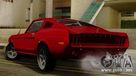 Ford Mustang Fastback para GTA San Andreas left