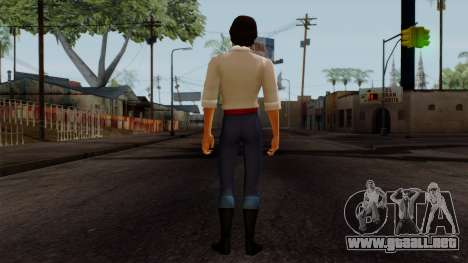 Eric (The Little Mermaid) para GTA San Andreas tercera pantalla