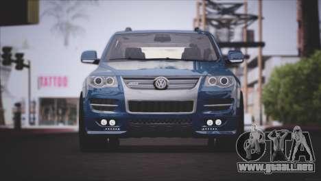 Volkswagen Touareg R50 2008 para GTA San Andreas left
