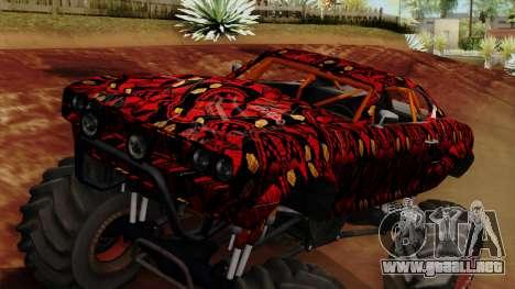 The Batik Big Foot para la visión correcta GTA San Andreas