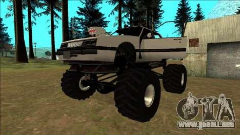 Willard Monster para vista inferior GTA San Andreas