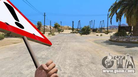 GTA 5 Las señales de la carretera tercera captura de pantalla