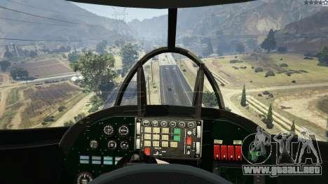 GTA 5 Mi 24 décima captura de pantalla