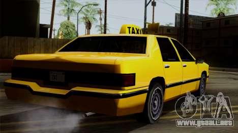 Elegant Taxi para GTA San Andreas left