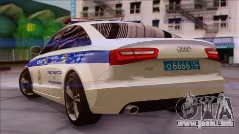Audi A6 DPS para GTA San Andreas left