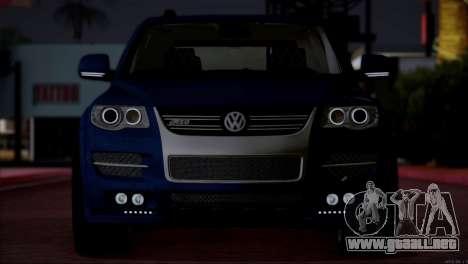 Volkswagen Touareg R50 2008 para visión interna GTA San Andreas