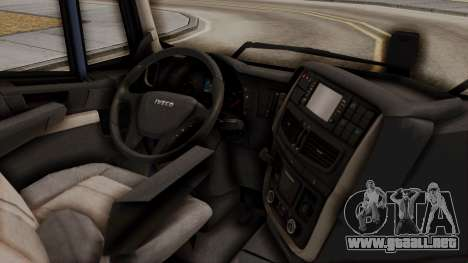 Iveco Truck from ETS 2 para la visión correcta GTA San Andreas