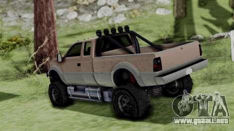GTA 5 Vapid Sandking para GTA San Andreas left