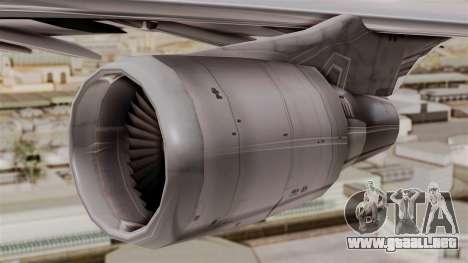 Boeing 747-400 Air India Old para la visión correcta GTA San Andreas