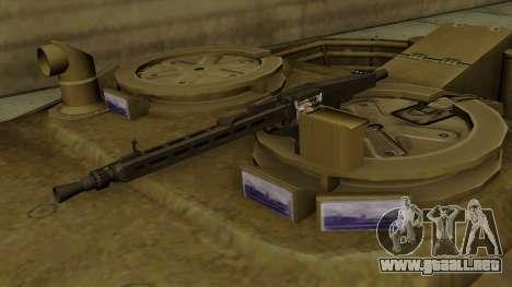 Leopard 1A5 para GTA San Andreas vista hacia atrás
