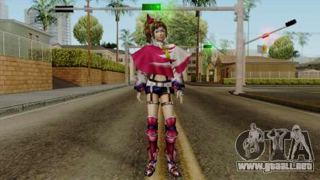 Sengoku Musou 3 - Kunoichi para GTA San Andreas segunda pantalla