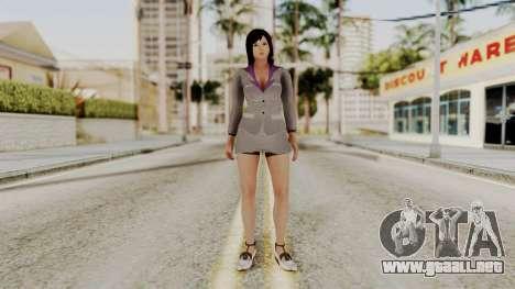 Kokoro Business Suit para GTA San Andreas segunda pantalla