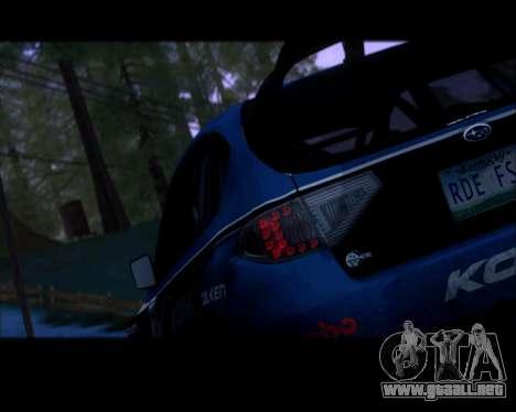 Queenshit Graphic 2015 v1.0 para GTA San Andreas sucesivamente de pantalla