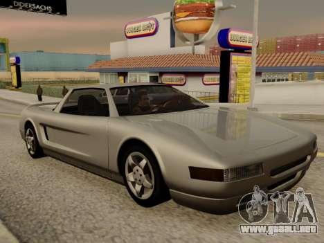 Infernus PFR v1.0 final para visión interna GTA San Andreas