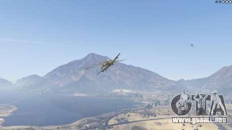 GTA 5 A-10A Thunderbolt II 1.1 décima captura de pantalla