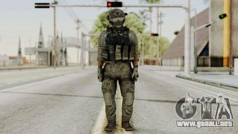 Derek Frost from CoD MW3 para GTA San Andreas segunda pantalla