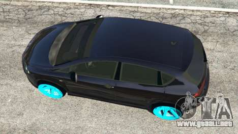 GTA 5 SEAT Leon II 2010 [Beta] vista trasera