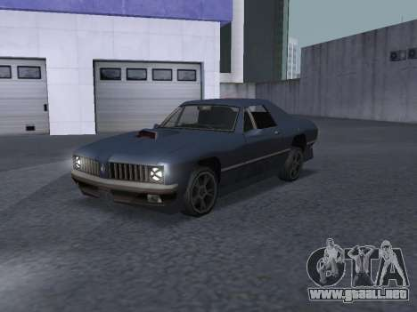 New Stallion para vista lateral GTA San Andreas
