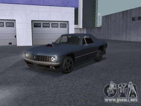 New Stallion para vista lateral GTA San Andreas