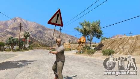 GTA 5 Las señales de la carretera segunda captura de pantalla