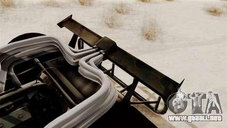 Camo Flip Car para la visión correcta GTA San Andreas