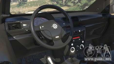 GTA 5 Volkswagen Fox v1.1 vista lateral derecha