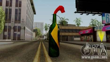 Brasileiro Molotov Cocktail v2 para GTA San Andreas segunda pantalla