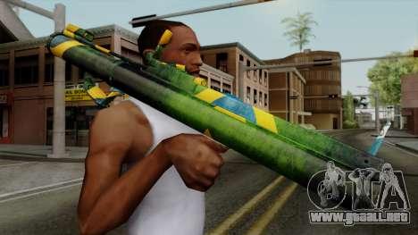 Brasileiro Heatseek v2 para GTA San Andreas