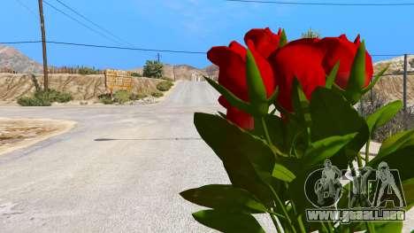 GTA 5 Un ramo de flores segunda captura de pantalla