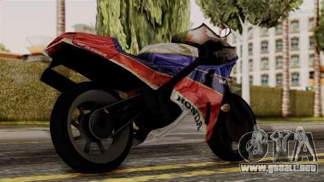 Honda VFR 750R para GTA San Andreas left