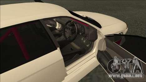 Nissan Skyline R32 Sedan Monster Energy Drift para visión interna GTA San Andreas