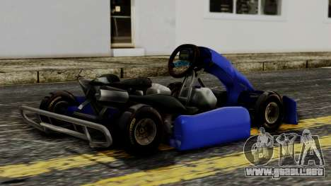 Crash Team Racing Kart para GTA San Andreas left
