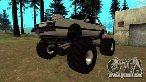 Willard Monster para vista lateral GTA San Andreas