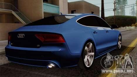 Audi A7 Sportback 2009 para GTA San Andreas left